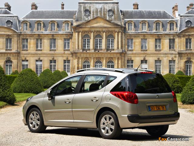 Peugeot 207 SW 2007–09 pictures (640 x 480)