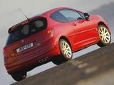 Peugeot 207 GTi ZA-spec 2007–10 pictures