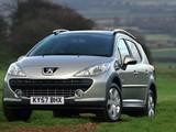 Peugeot 207 SW Outdoor UK-spec 2007–09 pictures