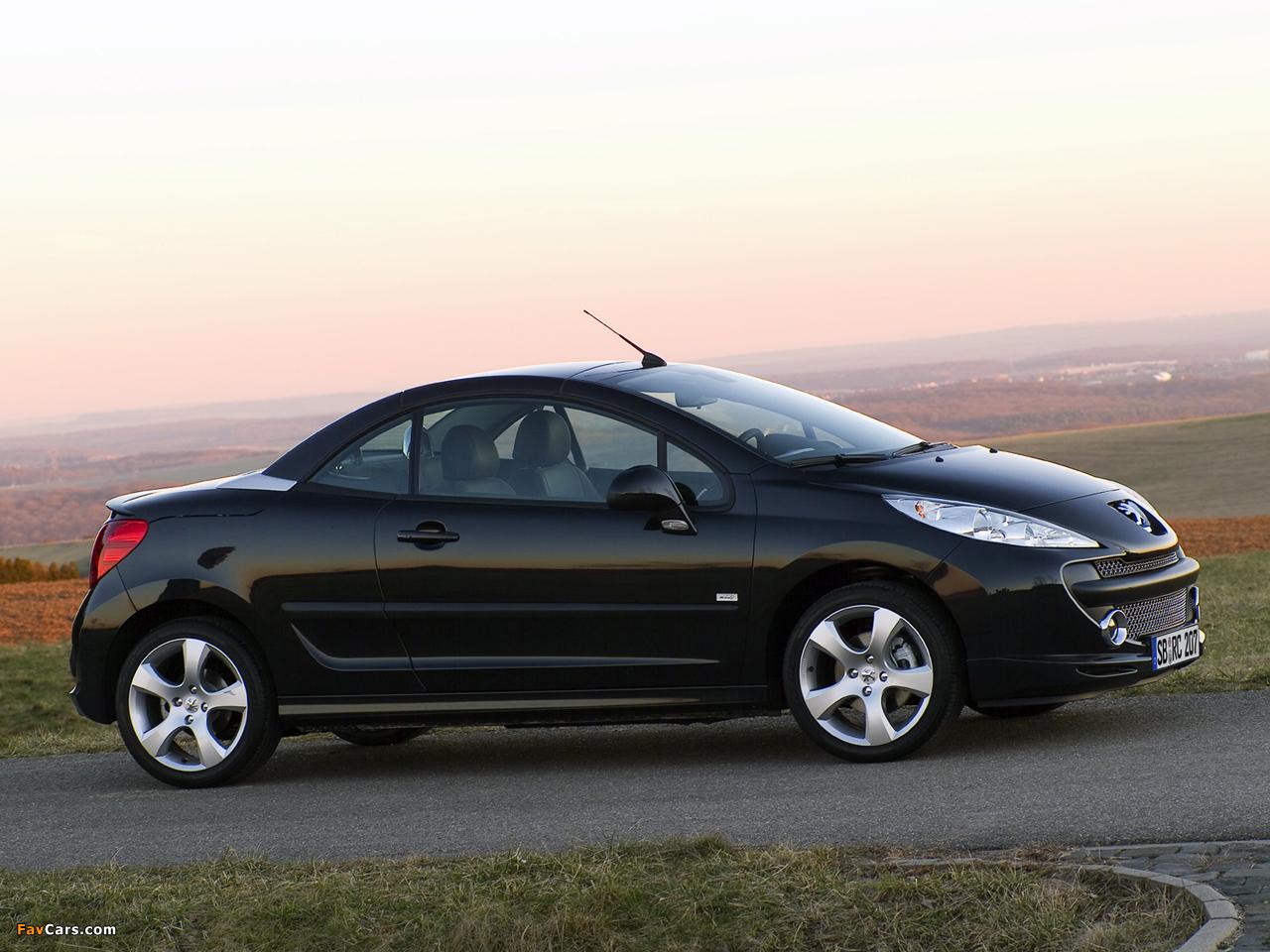 Peugeot 207 CC RC Line 2007 pictures (1280 x 960)