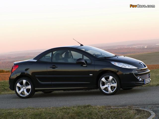 Peugeot 207 CC RC Line 2007 pictures (640 x 480)