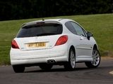 Peugeot 207 GTi UK-spec 2007–09 wallpapers