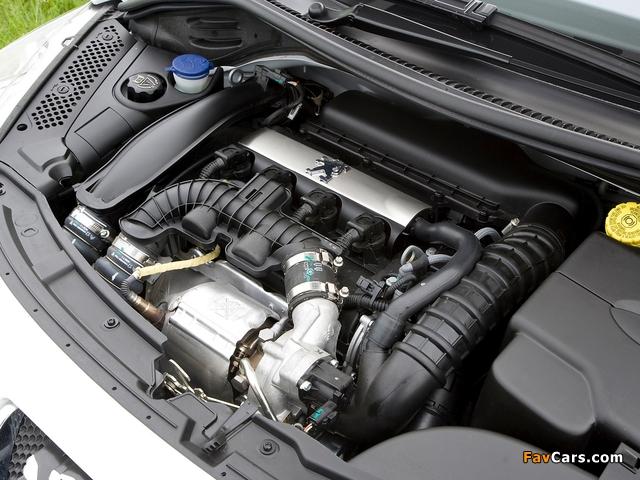 Peugeot 207 GTi UK-spec 2007–09 wallpapers (640 x 480)
