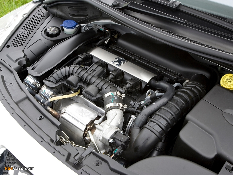 Peugeot 207 GTi UK-spec 2007–09 wallpapers (800 x 600)