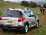 Peugeot 207 SW Outdoor UK-spec 2007–09 wallpapers