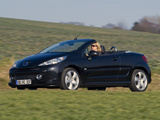 Peugeot 207 CC RC Line 2007 wallpapers