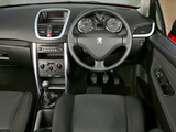 Peugeot 207 CC UK-spec 2007–09 wallpapers