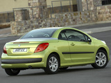 Peugeot 207 CC ZA-spec 2007–10 wallpapers