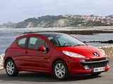 Peugeot 207 3-door Serie 64 2008–09 images