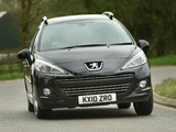 Peugeot 207 SW Outdoor UK-spec 2008 images