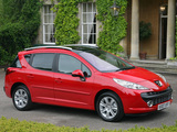Peugeot 207 SW UK-spec 2008 images
