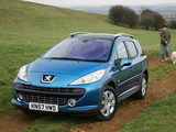 Peugeot 207 SW Outdoor UK-spec 2008 photos