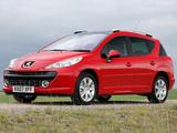 Peugeot 207 SW UK-spec 2008 pictures