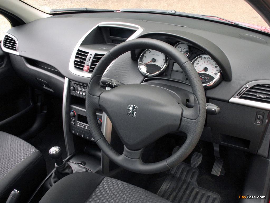 Peugeot 207 SW UK-spec 2008 wallpapers (1024 x 768)