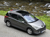Peugeot 207 SW Outdoor 2008 wallpapers