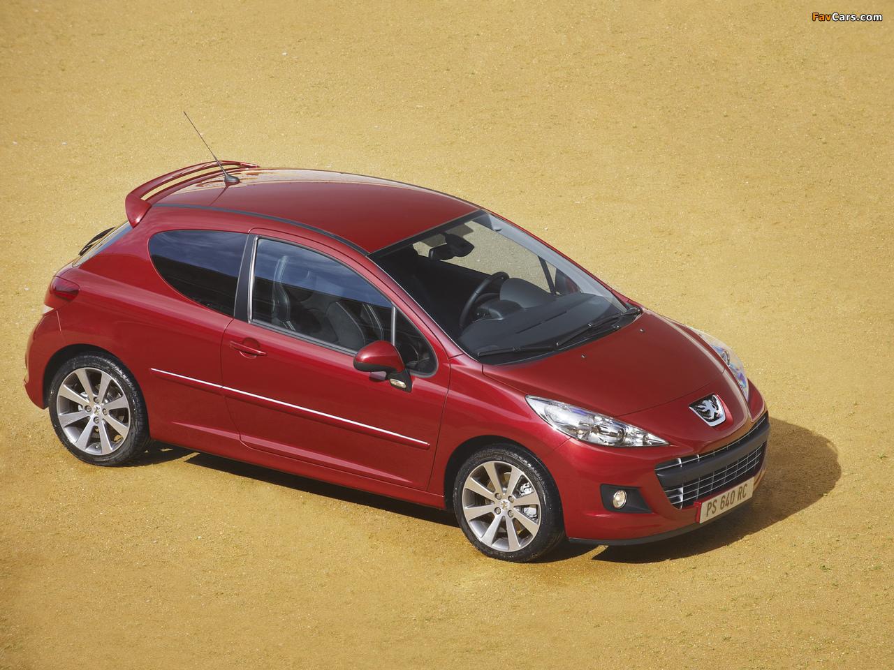 Peugeot 207 RC 2009 images (1280 x 960)