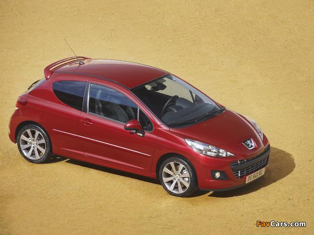 Peugeot 207 RC 2009 images (640 x 480)