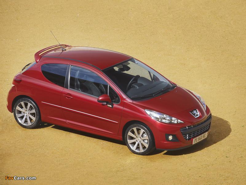 Peugeot 207 RC 2009 images (800 x 600)