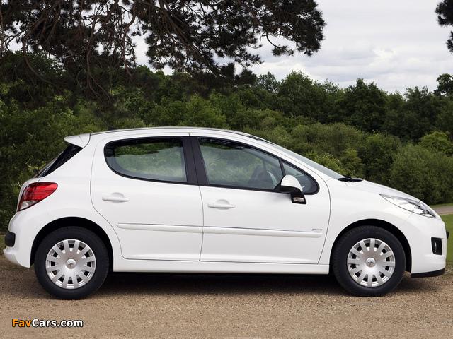 Peugeot 207 5-door 2009–12 images (640 x 480)