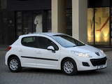 Peugeot 207 5-door ZA-spec 2009–12 images