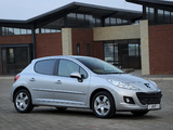 Peugeot 207 5-door ZA-spec 2009–12 photos