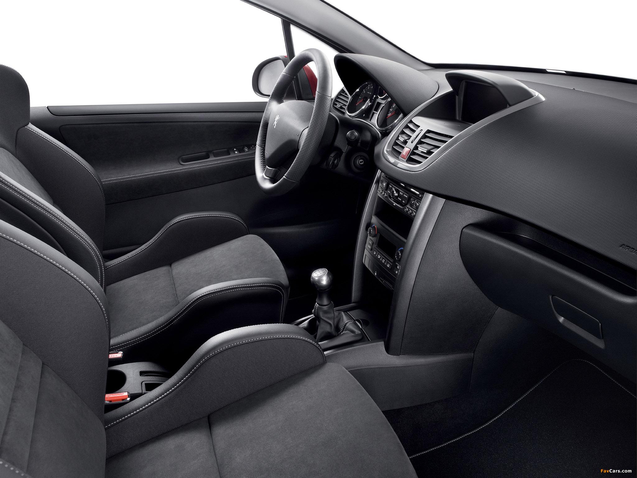Peugeot 207 RC 2009 photos (2048 x 1536)
