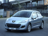 Peugeot 207 3-door ZA-spec 2009–10 photos