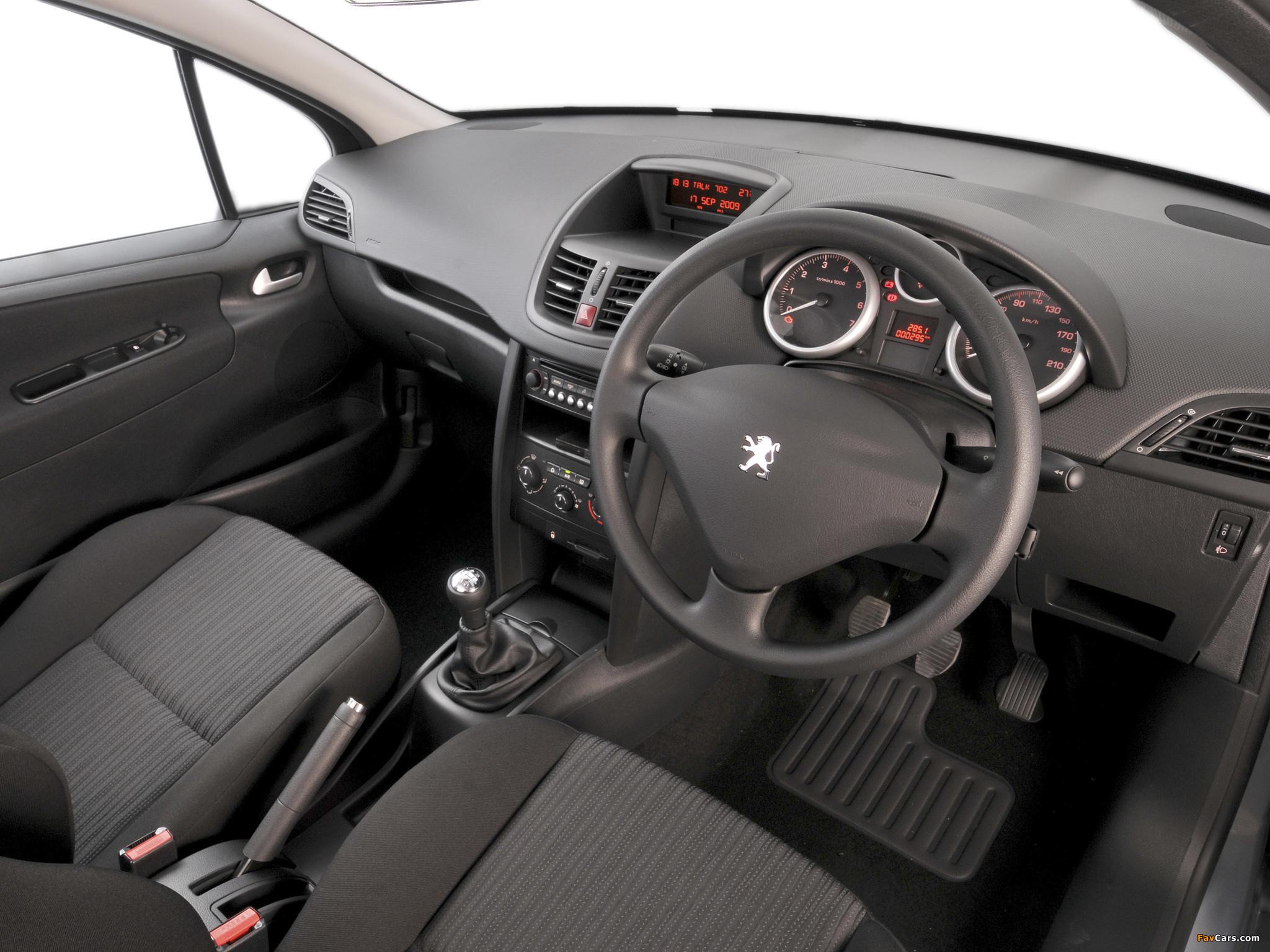 Peugeot 207 3-door ZA-spec 2009–10 photos (2048 x 1536)