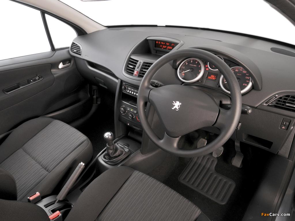 Peugeot 207 3-door ZA-spec 2009–10 photos (1024 x 768)