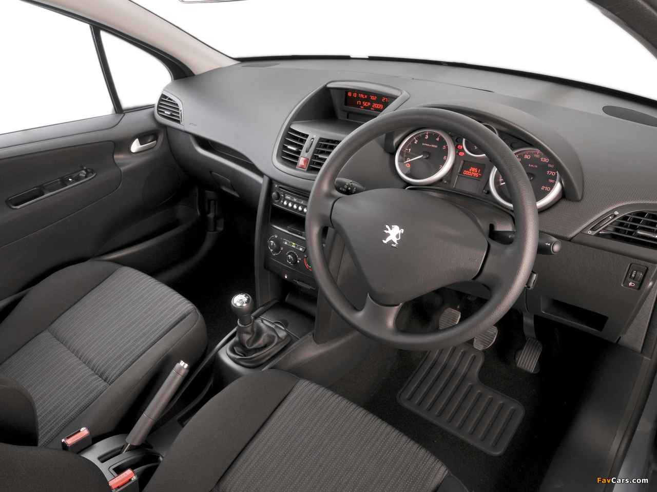 Peugeot 207 3-door ZA-spec 2009–10 photos (1280 x 960)