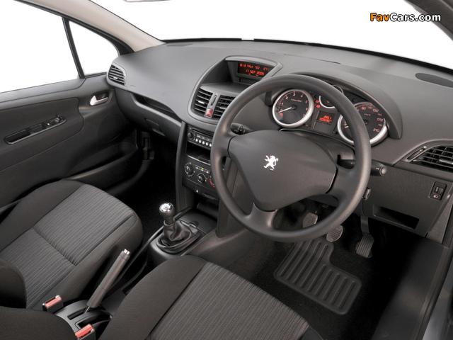 Peugeot 207 3-door ZA-spec 2009–10 photos (640 x 480)