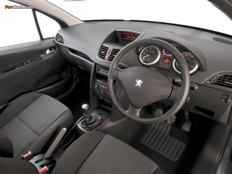 Peugeot 207 3-door ZA-spec 2009–10 photos (800 x 600)