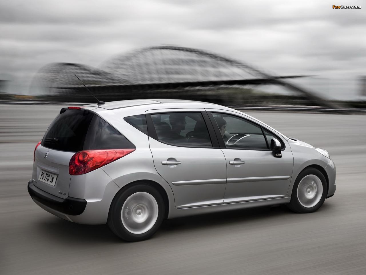 Peugeot 207 SW 2009–12 pictures (1280 x 960)