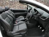 Peugeot 207 CC UK-spec 2009 pictures