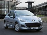 Peugeot 207 3-door ZA-spec 2009–10 pictures