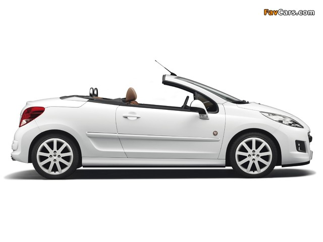 Peugeot 207 CC Roland Garros 2011 photos (640 x 480)