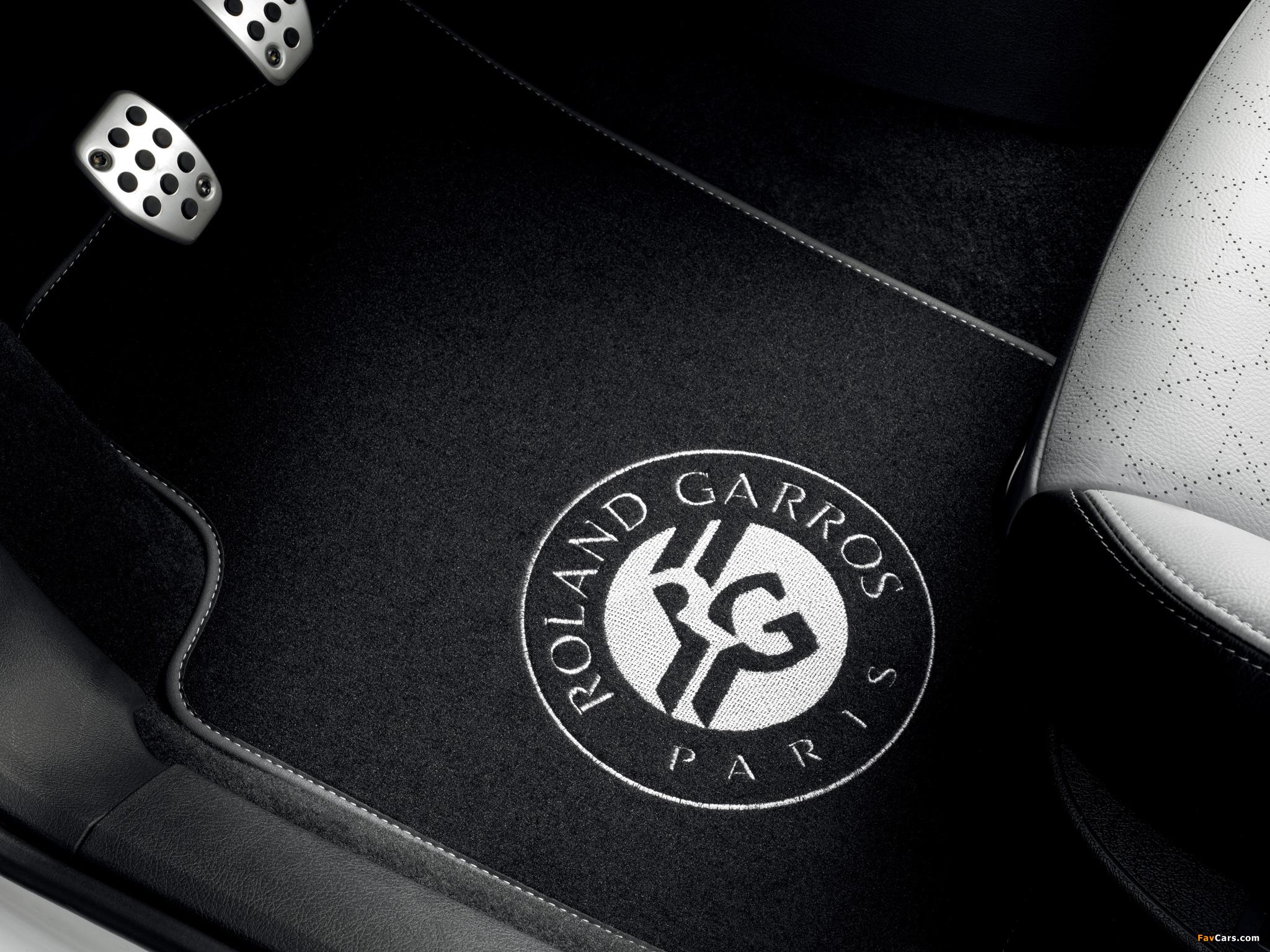 Peugeot 207 CC Roland Garros 2011 pictures (2048 x 1536)