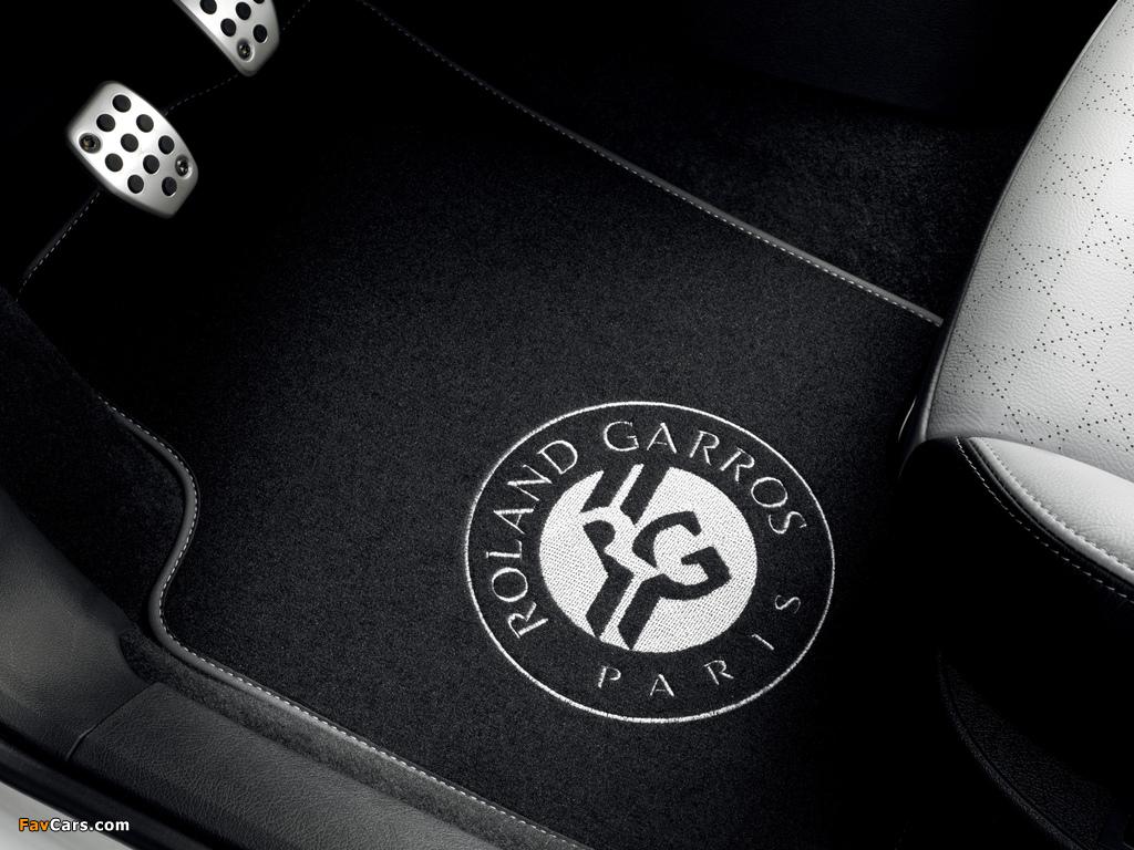 Peugeot 207 CC Roland Garros 2011 pictures (1024 x 768)