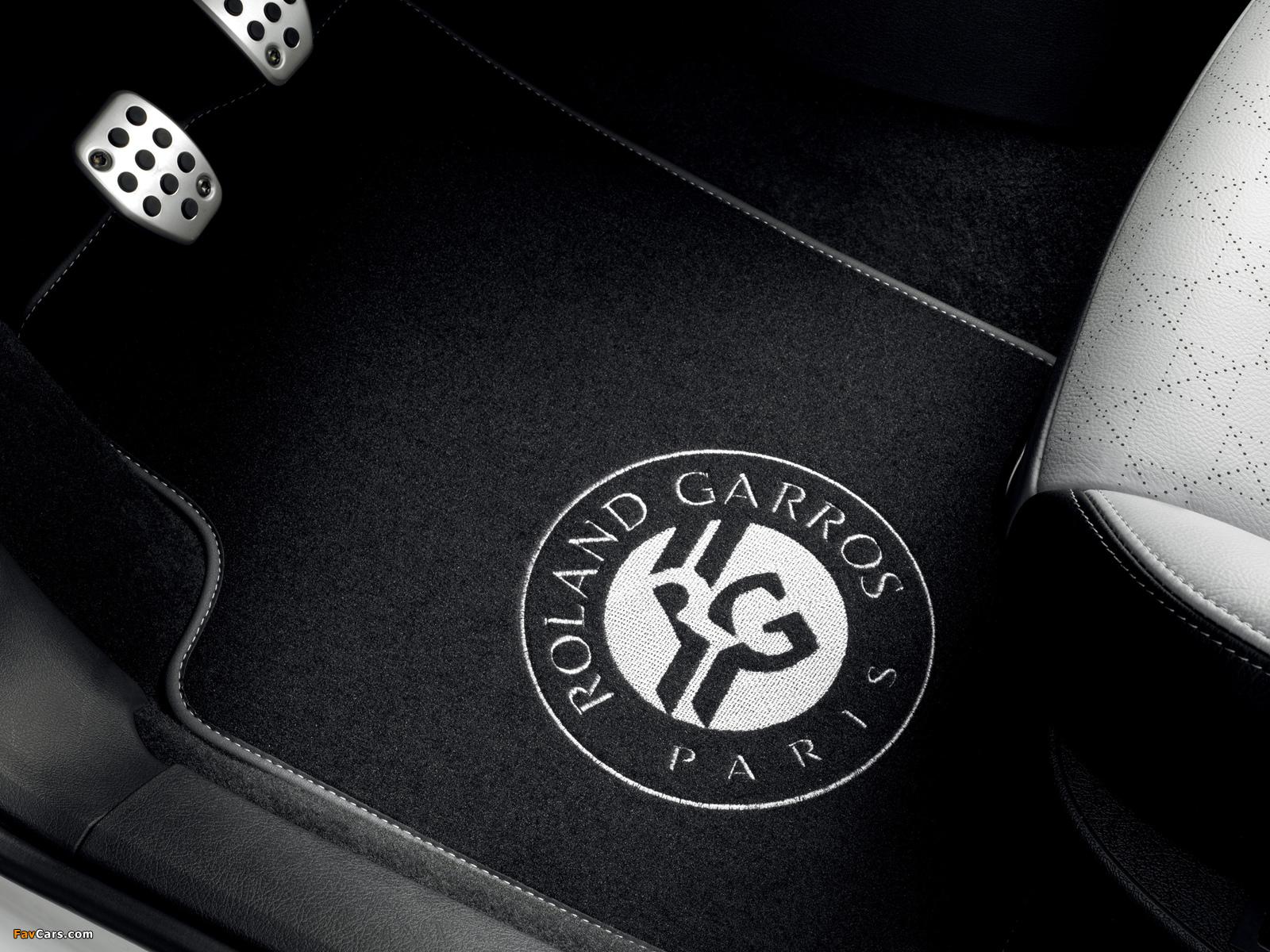Peugeot 207 CC Roland Garros 2011 pictures (1600 x 1200)