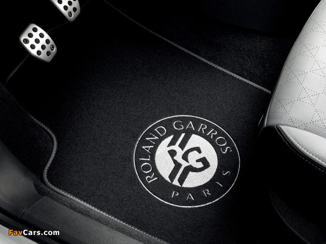 Peugeot 207 CC Roland Garros 2011 pictures (640 x 480)