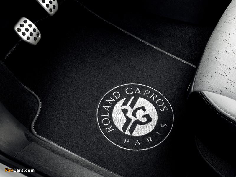 Peugeot 207 CC Roland Garros 2011 pictures (800 x 600)