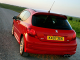 Photos of Peugeot 207 GTi UK-spec 2007–09
