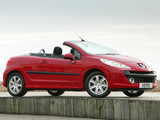 Photos of Peugeot 207 CC UK-spec 2007–09