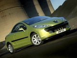 Photos of Peugeot 207 CC ZA-spec 2007–10