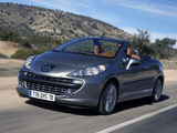 Photos of Peugeot 207 CC 2007–09