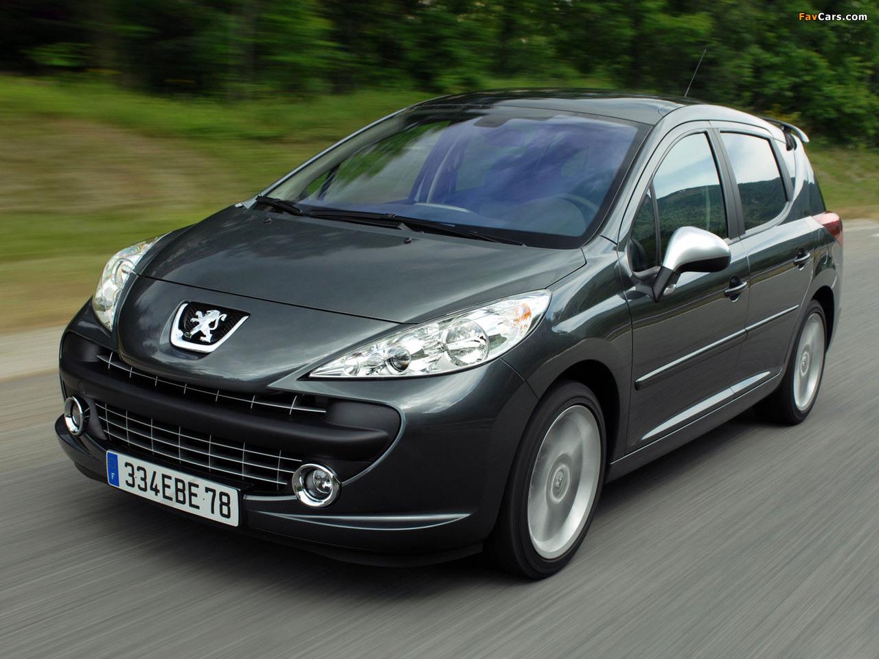 Photos of Peugeot 207 RC SW 2008–09 (1280 x 960)