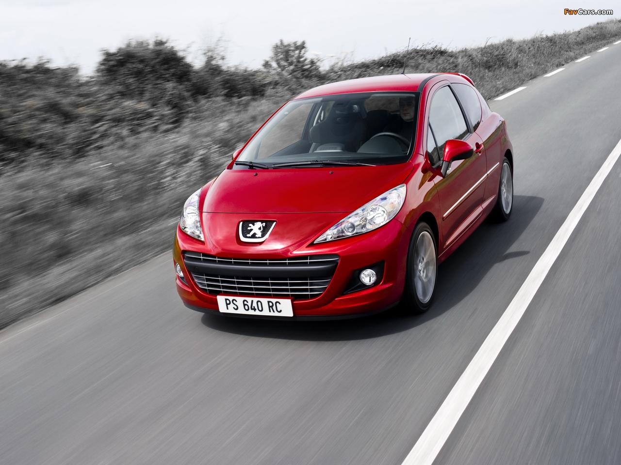 Photos of Peugeot 207 RC 2009 (1280 x 960)