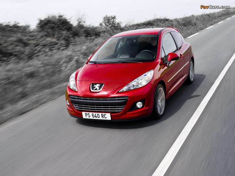 Photos of Peugeot 207 RC 2009 (800 x 600)