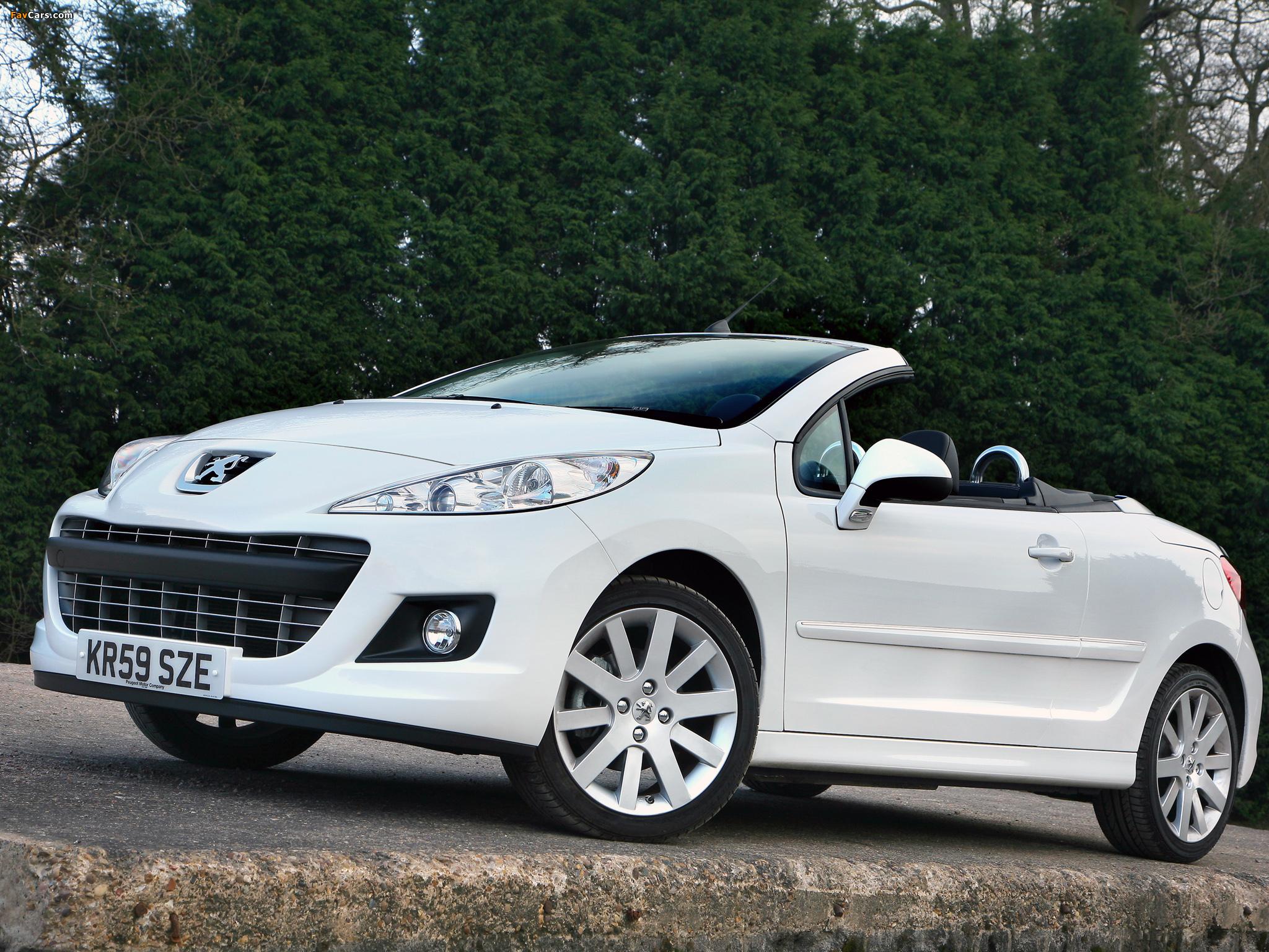 Photos of Peugeot 207 CC UK-spec 2009 (2048 x 1536)