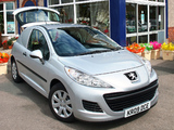 Photos of Peugeot 207 Van UK-spec 2009